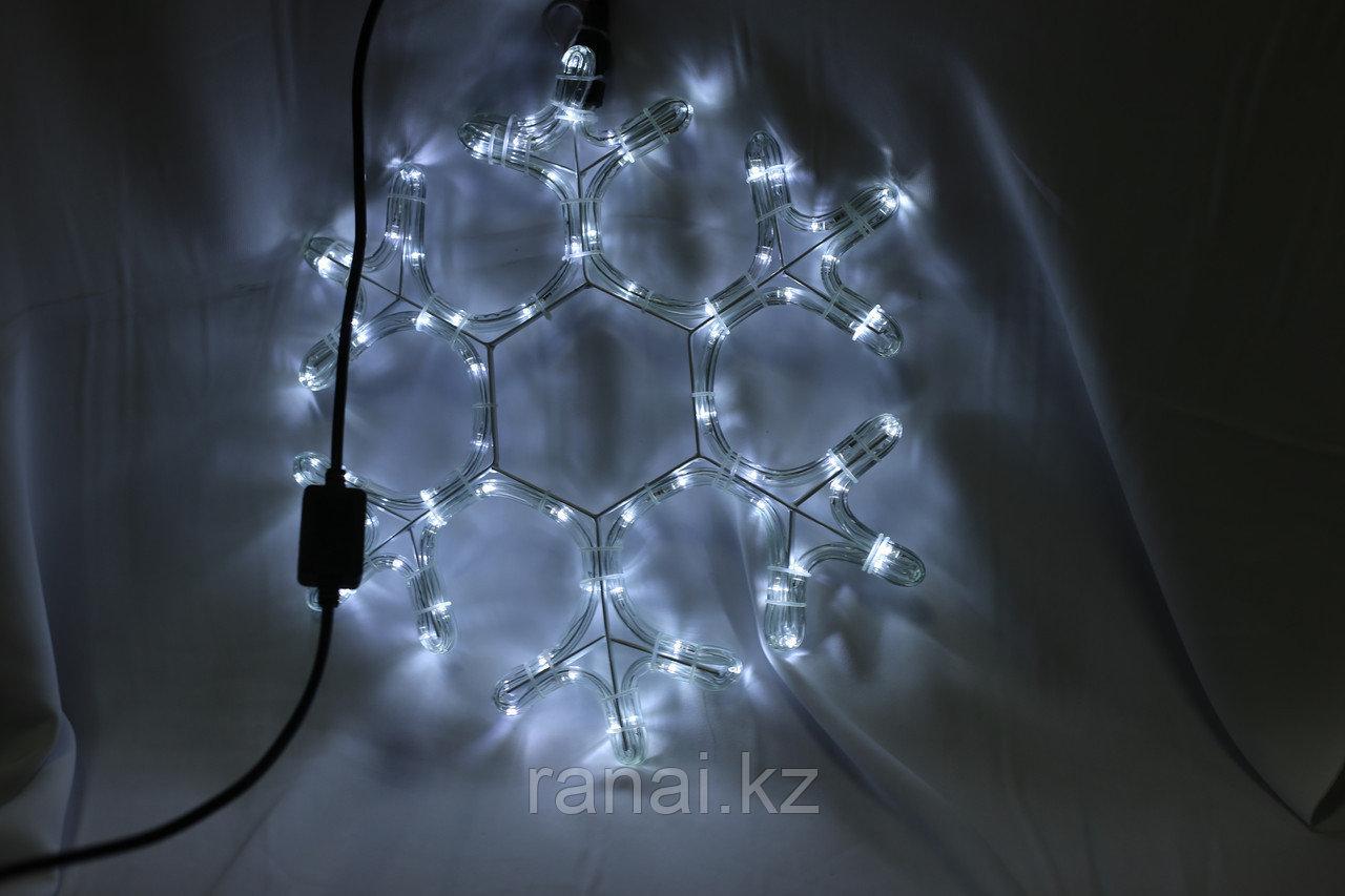 Светодиодная фигура  Снежинки в алматы 1м х 1м