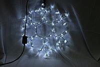 Светодиодная фигура  Снежинки в алматы 1м х 1м, фото 1