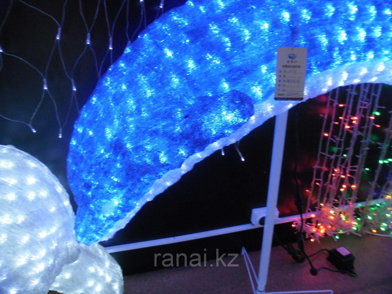 Световые фигуры «Дельфин» алматы (210см на 130см)