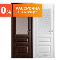 Межкомнатная дверь Эрмитаж-2 остеклённое
