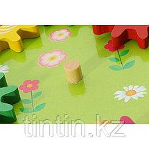 Деревянная развивающая игрушка — Шестеренки, фото 2