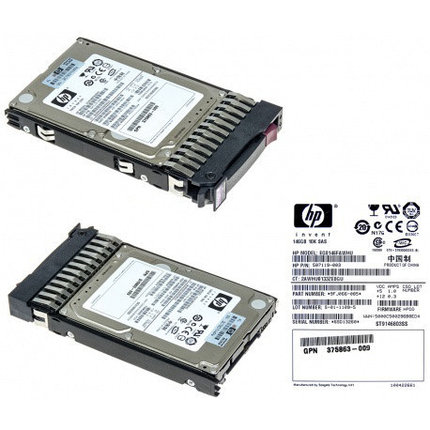 "Жесткий диск 1TB 2.5"" SFF 6G Dual Port SAS P/N 605832-002, фото 2"