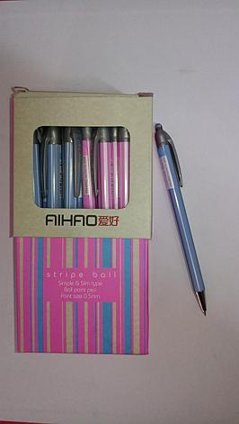 Ручка Aihao Stripe ball 0,5 мм, фото 2