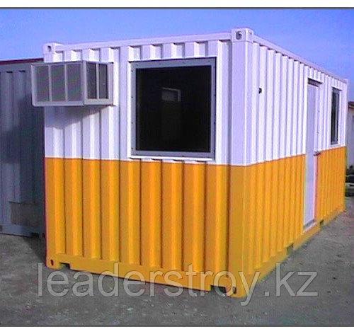 Строительные бытовки и утепленные контейнера под офис