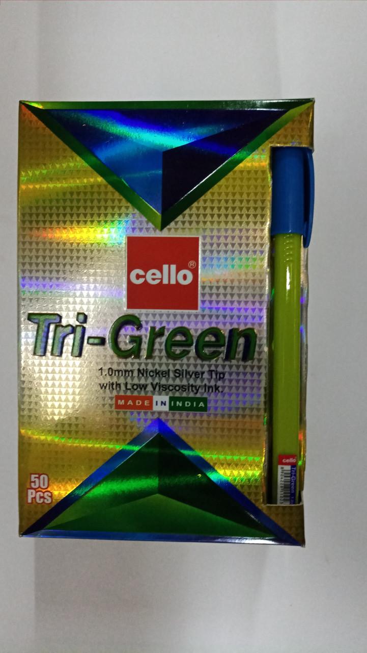 Ручка Cello Tri-Green