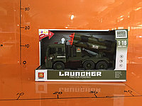 Машинка Военная Пусковая установка интерактивная
