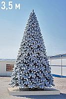 """Искусственная новогодняя ёлка со снегом """"Сибирь Голд"""" - 3,5 метра"""