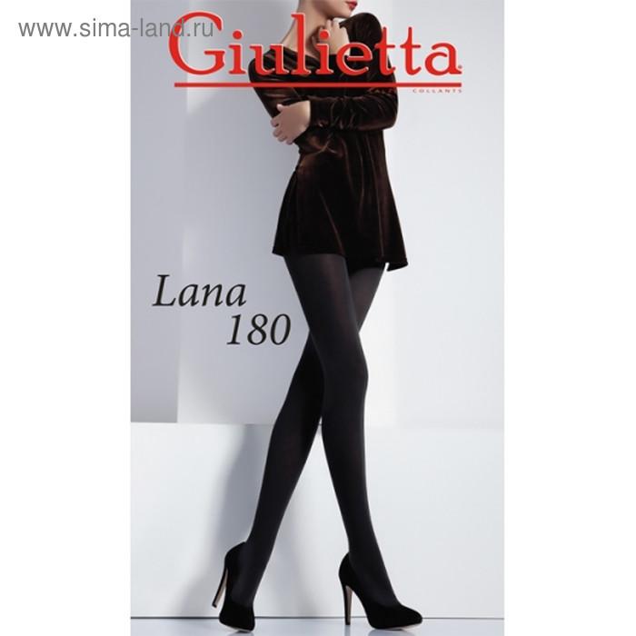 Колготки женские Giulietta LANA 180 den, цвет чёрный (nero), размер 2 - фото 1