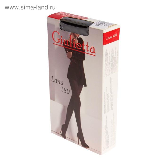 Колготки женские Giulietta LANA 180 den, цвет чёрный (nero), размер 2 - фото 4