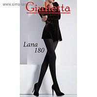 Колготки женские Giulietta LANA 180 den, цвет чёрный (nero, 5XL)