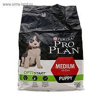 Сухой корм PRO PLAN для щенков, курица/рис, 3 кг