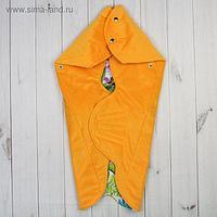 """Одеяло конверт трансформер """"Тропики"""", цвет жёлтый ОКт/Тр"""