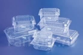 Пластиковые одноразовые контейнера
