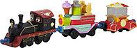 Die-Cast Чаггингтон, Старина Пит с двумя вагончиками, фото 1