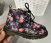 Ботинки черные для девочки размеры 21-25