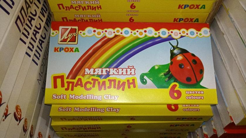 """Пластилин """"Луч"""" - Кроха. 6 цветов., фото 2"""