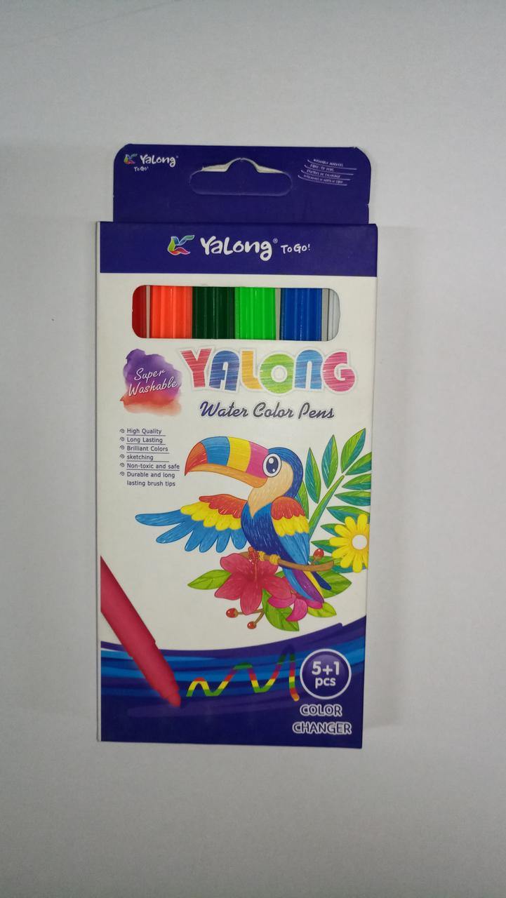 "Фломастеры ""Yalong"" 6 цвета/"