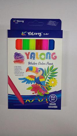 "Фломастеры ""Yalong"" 8 цвета., фото 2"