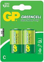 Батарейки R14 C 2 шт GP Greencell