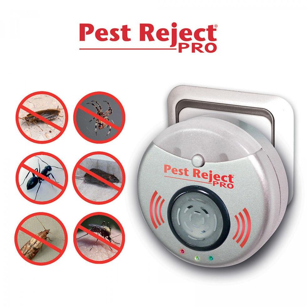 Ультразвуковой отпугиватель насекомых и грызунов Pest Reject Pro (Пест Реджект Про)