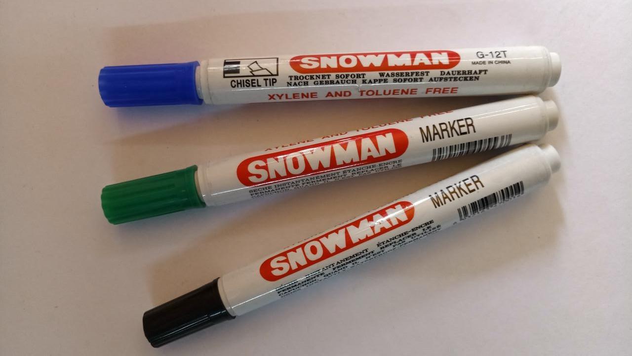 "Маркер ""Snowman"""