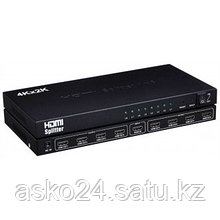 Сплиттер HDMI 8 port High Resolution FullHD 1080P, 3D, DTS-HD Dolby + Power Supply