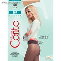 Колготки женские CONTE ELEGANT TOP 40 den, цвет чёрный (nero), размер 2