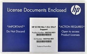 Программное обеспечение HP IC FIO 1 /svr 24 x 7 1 (582765-b21)