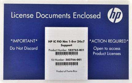 Программное обеспечение HP IC FIO 1 /svr 24 x 7 1 (582765-b21), фото 2
