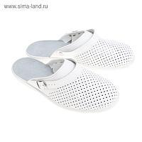 """Туфли-сабо """"Павел"""", мужские, размер 45, цвет белый"""