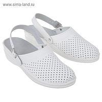"""Туфли-сабо """"Маша"""", женские, размер 37, цвет белый"""