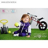 Комплект для мальчика, рост 68-74 см, цвет фиолетовый 8-4