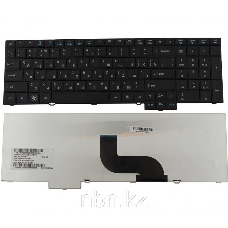 Клавиатура Acer TravelMate 5760 / 5760G / 5760TG / 8573 / 6595TG