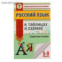 Русский язык в таблицах и схемах. 5-9 классы. Текучева И. В.