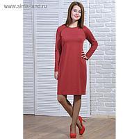 Платье женское 5690а цвет красный, р-р 44
