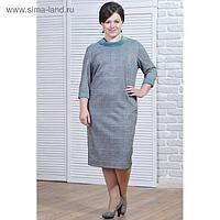 Платье женское 5691 цвет разноцветный, р-р 52
