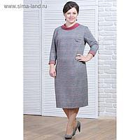 Платье женское 5691а цвет разноцветный, р-р 52
