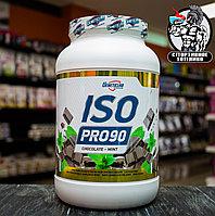 """Изолят сывороточного белка от Geneticlab """"ISO PRO"""" 900гр/27порция Апельсин"""