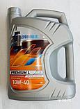Полусинтетическое масло Газпром Premium L 10W-40 канистра 4 л., фото 2