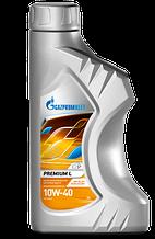 Полусинтетическое масло Газпром Premium L 10W-40 канистра 1 л.