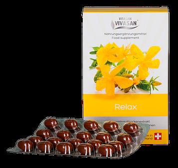 Сухой экстракт зверобоя с витаминами группы В и витамином С. Релакс комплекс