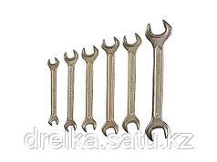 Набор рожковых ключей STAYER ТЕХНО, 6-19мм, 6 предметов, 27040-H6