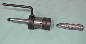 Патрон для кольцевых сверл с подводом СОЖ