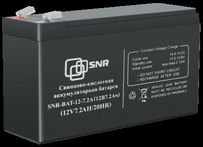 Свинцово-кислотный аккумулятор 12 В 7.2 Ач (SNR-BAT-12-7-GP)