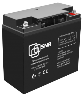 Свинцово-кислотный аккумулятор 12 В 17 Ач (SNR-BAT-12-17-GP)