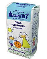 Смесь без глютена «Белый хлеб» Гарнец, 600 гр