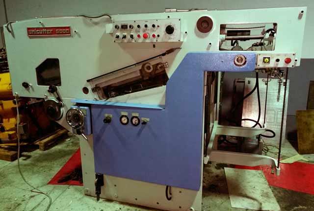 Автоматический штанц-пресс  TMZ 5000