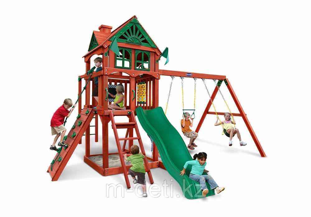 Непоседа Эконом деревянный игровой комплекс PN0003 Playnation