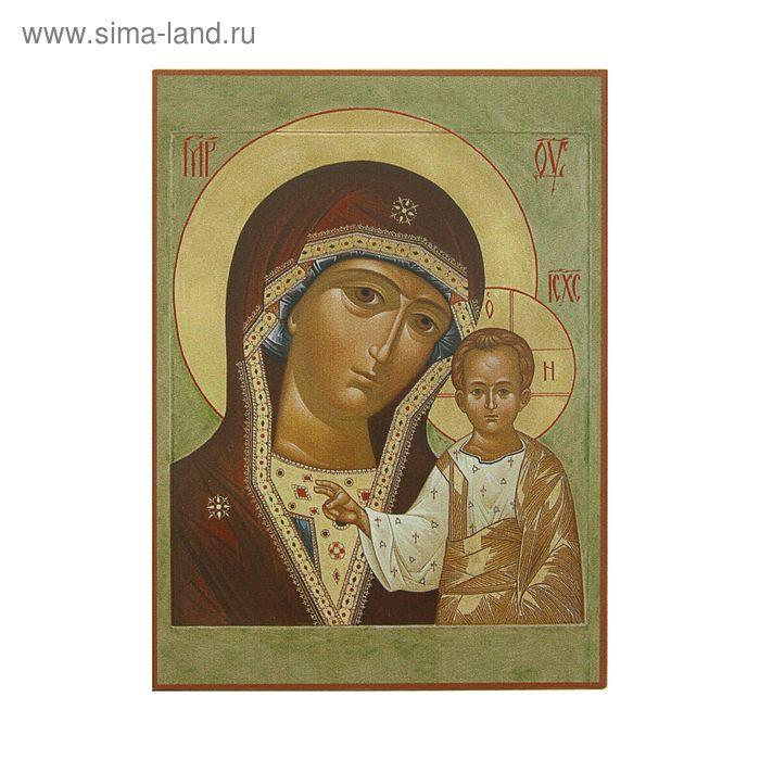 Икона освящённая Богородица Казанская (совр) 95х140 - фото 1