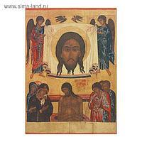 """Икона освящённая Спас на убрусе """"Не рыдай мене Мати"""" 95х140"""